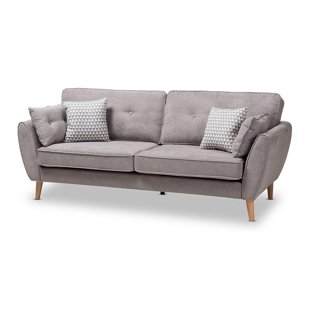 Baxton Studio Mid-Century Sofa