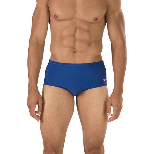 Men's Speedo Solid Dive Swim Suit