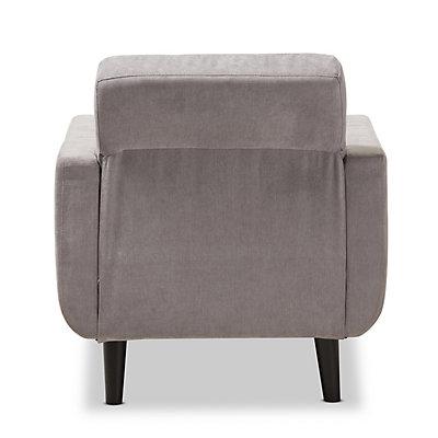 Baxton Studio Mid-Century Lounge Chair