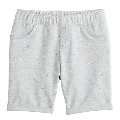 Girls 4-12 Jumping Beans® Print Bermuda Shorts