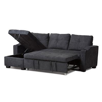 Baxton Studio Modern Sectional Sofa Sleeper
