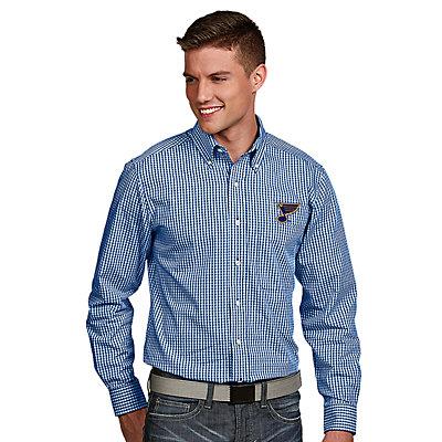 Men's Antigua St. Louis Blues Associate Button-Down Shirt