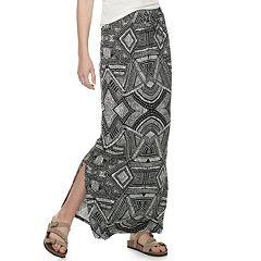 9a203d7b80 Womens Black Maxi Skirts & Skorts - Bottoms, Clothing   Kohl's