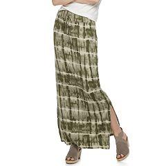 Women's SONOMA Goods for Life™ Side Slit Maxi Skirt