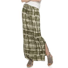 Women's SONOMA Goods for Life? Side Slit Maxi Skirt