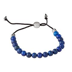 Simply Vera Vera Wang Men's Beaded Adjustable Bracelet