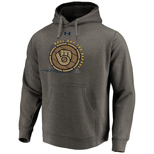 Men's Under Armour Milwaukee Brewers Hoodie