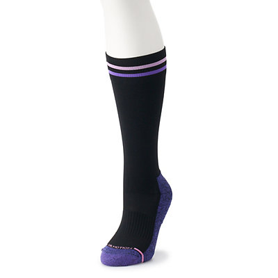 Women's Dr. Motion Striped Compression Knee-High Socks