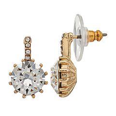 Dana Buchman Swarovski Crystal Drop Earrings