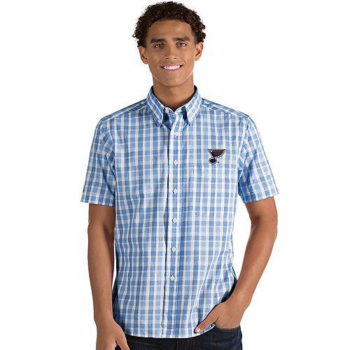 Men's Antigua St. Louis Blues Button-Down Shirt