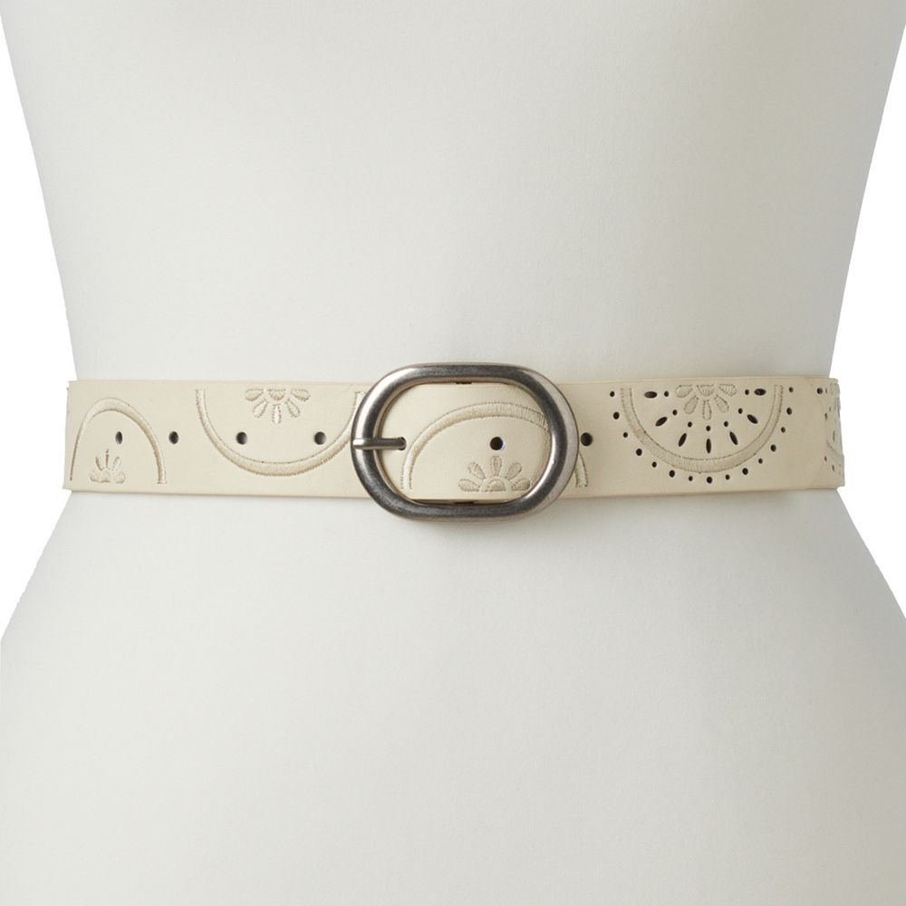 Women's SONOMA Goods for Life® Embroidered & Perforated Belt