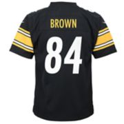 Boys 8-20 Nike Pittsburgh Steelers Antonio Brown Game Jersey