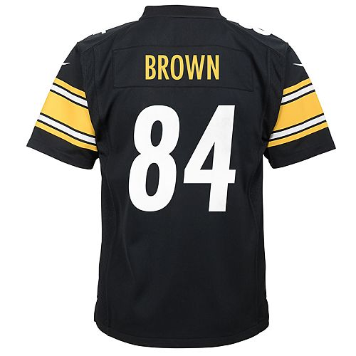 Boys 8-20 Nike Pittsburgh Steelers Antonio Brown Game Jersey