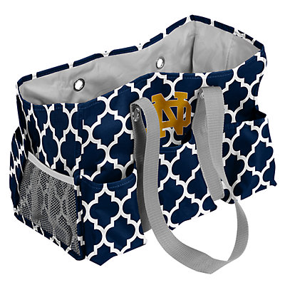 Notre Dame Fighting Irish Quatrefoil Junior Caddy