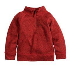 Baby Boy Jumping Beans® Sweaterfleece Quarter Zip Pullover