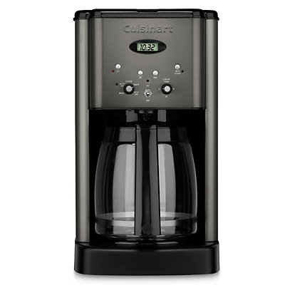 Cuisinart Brew Central Black Stainless Steel 12-Cup Programmable Coffee Maker