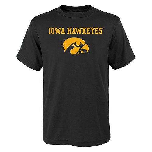 Boys 4-18 Iowa Hawkeyes Goal Line Tee