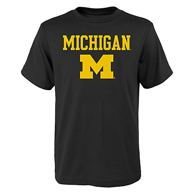 Boys 4-18 Michigan Wolverines Goal Line Tee