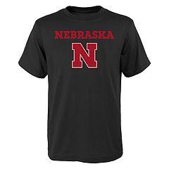 Boys 4-18 Nebraska Cornhuskers Goal Line Tee