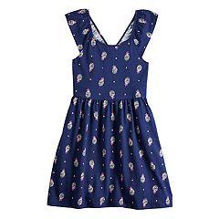 2d5fe657f75 Girls 4-12 Jumping Beans® Print Skater Dress