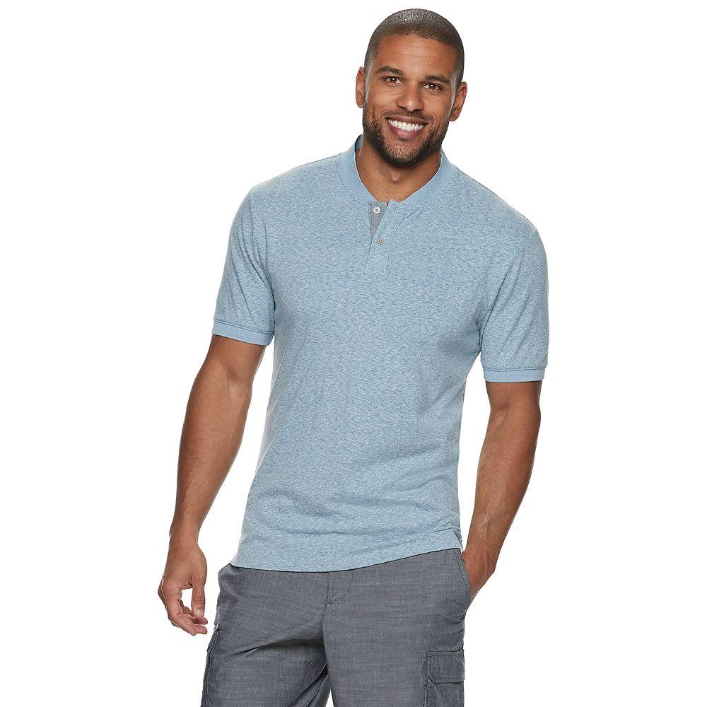Men's Method Regular-Fit Blade-Collar Henley