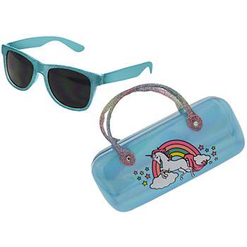Girls Elli by Capelli Unicorn Sunglasses with Case