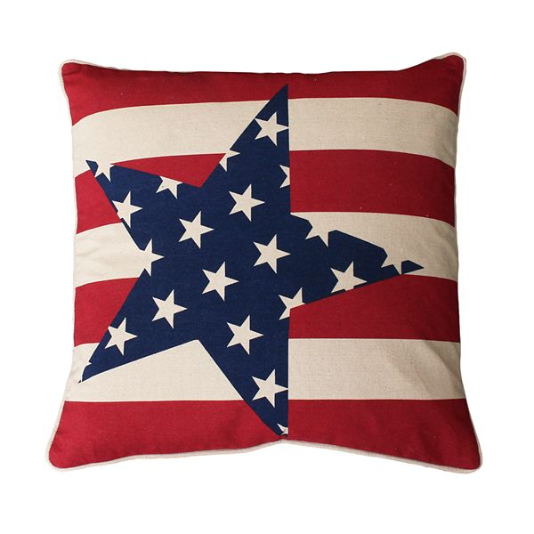 Thro By Marlo Lorenz Andrew Stars And Stripes Throw Pillow