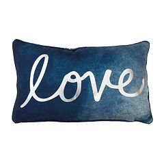 Thro by Marlo Lorenz Reversible Love Throw Pillow