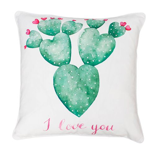 Thro by Marlo Lorenz Sandrine Cindy Succulent Throw Pillow