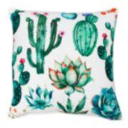 Thro by Marlo Lorenz Ellen Cindy Succulent Throw Pillow
