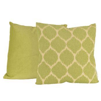 Thro by Marlo Lorenz 2-Pack Ivana Ikat Reversible Throw Pillow