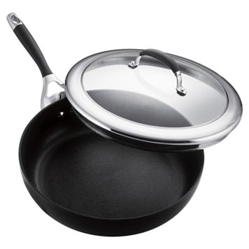 Circulon Elite 12-in. Nonstick Hard-Anodized Deep Skillet