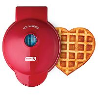 Deals on Dash Mini Heart Waffle Maker