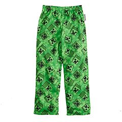Boys 4-20 Minecraft Creeper Loungepants