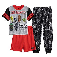 5f2c1409d7 Boys 6-12 Star Wars 3-Piece Pajama Set