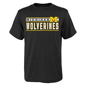 Boys 4-18 Michigan Wolverines Banner Tee