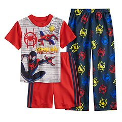 c82cd27e0cf Boys 4-10 Spider-Man 3-Piece Pajama Set