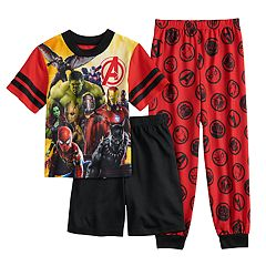 Boys 6-12 Avengers Infinity Wars 3-Piece Pajama Set