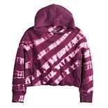 Girls 7-16 SO® Crop French Terry Hoodie