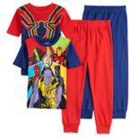 Boys 4-10 Avengers Infinity Wars 4-Piece Pajama Set