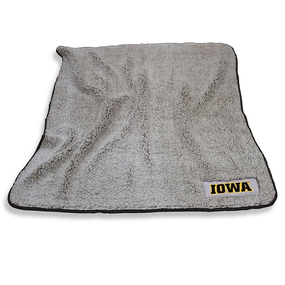 Iowa Hawkeyes Frosty Fleece Throw Blanket
