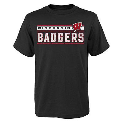 Boys 4-18 Wisconsin Badgers Re-Generation Tee
