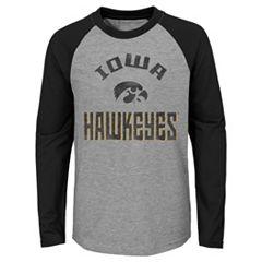 Boys 4-18 Iowa Hawkeyes Gridiron Tee