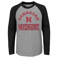 Boys 4-18 Nebraska Cornhuskers Gridiron Tee