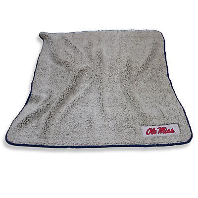 Ole Miss Rebels Frosty Fleece Throw Blanket