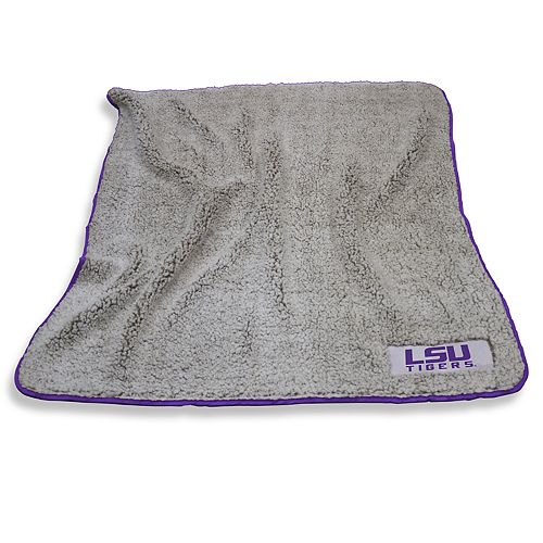 LSU Tigers Frosty Fleece Throw Blanket