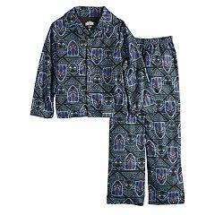 Boys 6-12 All Hail The King 2-Piece Pajama Set