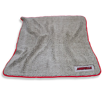 Louisville Cardinals Frosty Fleece Throw Blanket
