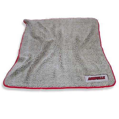 Louisville Cardinals Frosty Fleece Throw Blanket