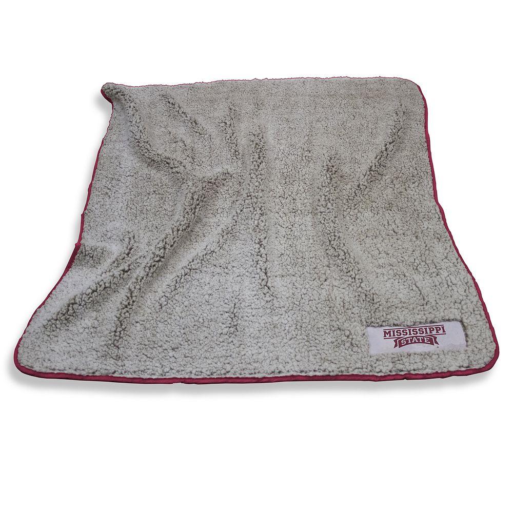 Mississippi State Bulldogs Frosty Fleece Throw Blanket
